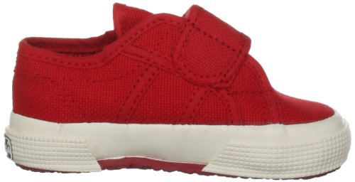 Superga 2750 BVEL, Unisex Kinder Sneakers Rosso (Red)