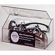 Horizon Manufacturing 5135 10-Pair Foam Ear Plug Dispenser with Lid - Clear Plastic