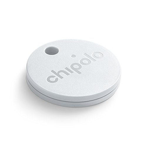 CHIPOLO PLUS (GEN 2) - Bluetooth Tracking Device to Easily Find Your Lost Keys, Wallet, Phone, Bag, Backpack, Etc. Loudest Speaker Alert on the Market (100 dB). Water Resistant. - Gps Sunglasses