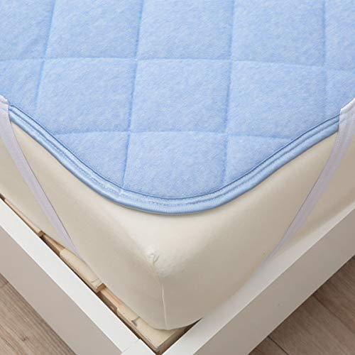 N 멋진 슈퍼 니 토리 깔개 패드 싱글 블루 (100 × 200cm) 접촉 냉감 N 멋진 슈퍼