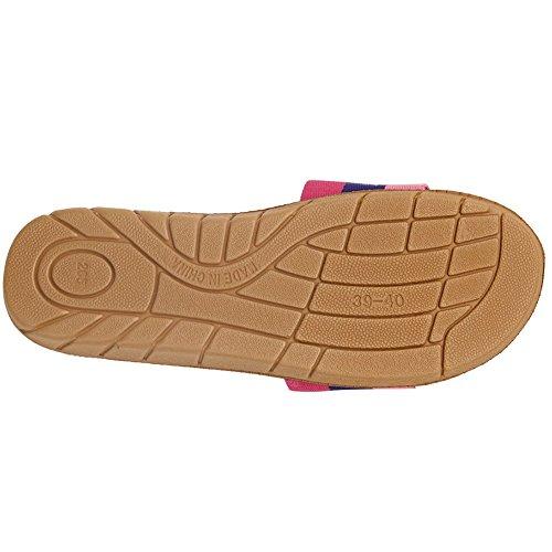 Pantofole Pantofola Donna Unisex Comfort Sandali Rosa / Viola / Rosa Chiaro