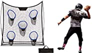 6.9' Portable Football Training Net with Five Targets and Carry Bag by Trademark Innovat