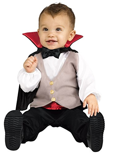 [Lil' Dracula Infant Costume (Small 6-12 Months)] (Vampire Costumes For Babies)