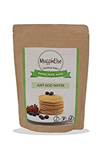 MuffinElse Certified Paleo Pancake Mix - Gluten Free | Dairy Free | No Preservatives | No Sugar Added | Just Add Water
