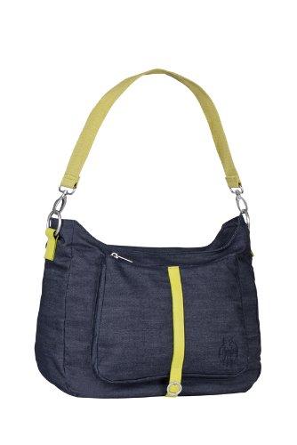 Lässig LSB664 - Bolsa de transporte, color azul oscuro/amarillo Azul oscuro/amarillo (Denim Blue)