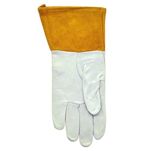 - Tillman 24C Top Grain Pearl Kidskin TIG Glove with 4