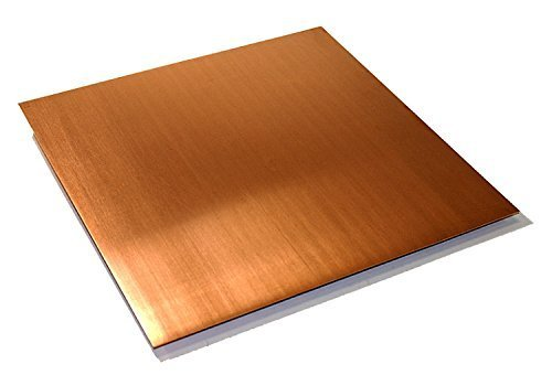 16oz Copper Sheet (0.0216'') (24 Ga) 36''x72'' - Unpolished Mill Finish by Grant Logan Copper