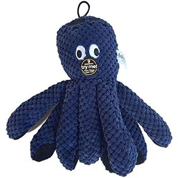Pet Supplies : fabdog Floppy Octopus Squeaky Dog Toy