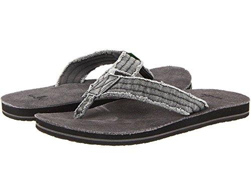 Sanuk Mens Fraid Zo Bruin / Bruin Multi-sandaal Camo