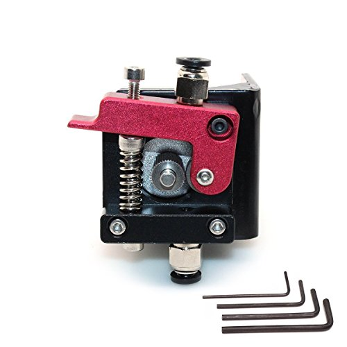 WINSINN 3D Printer MK8 Extruder Hotend Kit Driver Feeder - Left Hand - For 1.75mm 3mm Nozzle Filament - RepRap Prusa i3 Bowden Makerbot MK8 Accessories Parts by WINSINN