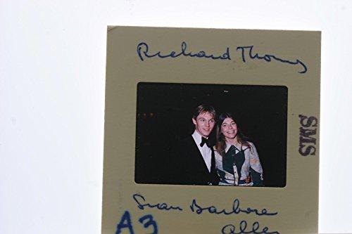 Slides photo of Richard Earl Thomas and Sian Barbara Allen photograph