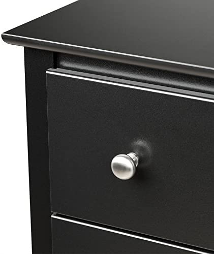 home, kitchen, furniture, bedroom furniture,  dressers 2 discount Black Sonoma Tall 6 Drawer Chest in USA