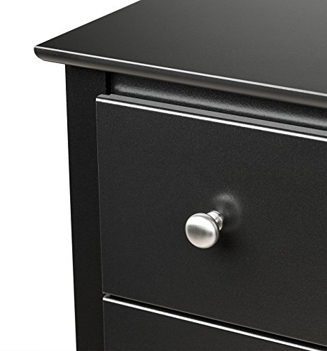 home, kitchen, furniture, bedroom furniture,  nightstands 9 picture Prepac Sonoma Nightstand, Tall 3-Drawer, Black in USA