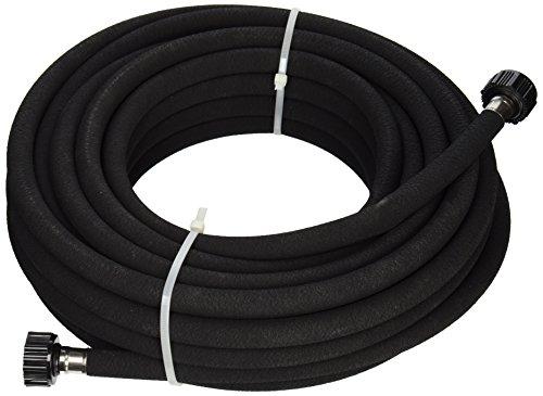 Flexon WS1250 Weep and Soak Soaker Hose, Black, 50-Feet