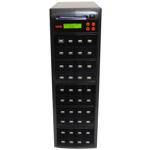 Systor 1 to 39 Multiple USB Thumb Drive Duplicator / USB Flash Card Copier (USBD-39) by Systor Systems