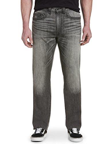 True Religion Big and Tall Geno Stretch Denim Jeans Dark Smo