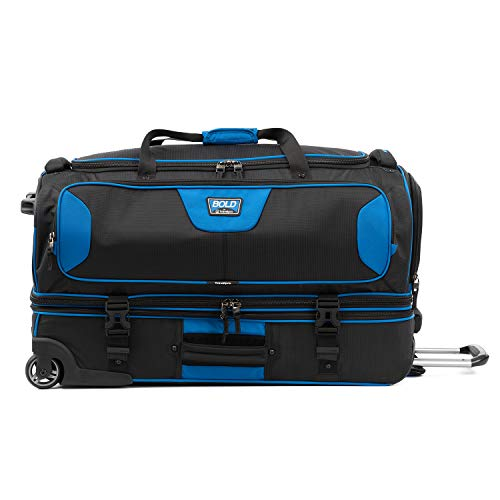"Travelpro Bold 30"" Rolling Duffle Bag With Drop Bottom Luggage"