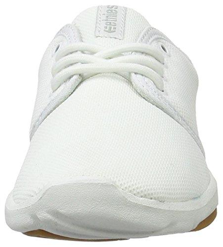 de Femme Gum Skateboard Etnies Scout W's White Chaussures Blanc qnfAt