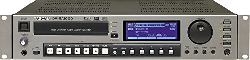 TASCAM DVRA1000 DVD Stereo Mastering Recorder (Stereo Recorder Dvd Mastering)