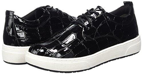 Tozzi Strpat black Mujer Marco 23708 Zapatillas Negro Para A1aAdZSq