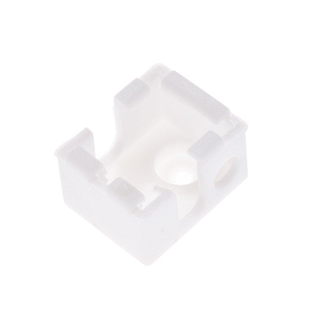 13mm color:white 18 Shuzhen,1pc 3D Printer Accessories E3D V6 Hotend Block Silicone Socks Heating Block Cover 22