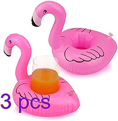 Rocita Portavasos Hinchable Flotadores de Bebidas para Piscina y ...