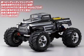 京商 31227J 1/8 GP 4WDモンスタートラック r/s マッドフォース クルーザー KT100付