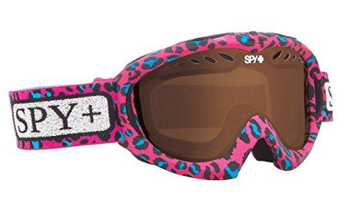Spy Optic Targa Mini Snow Goggles, Wild and Free Frame, Bronze Lens by Spy