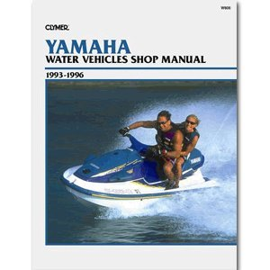 CLYMER YAMAHA PERSONAL WATERCRAFT 1993-1996 ''Prod. Type: Boat Outfitting'' by OEM