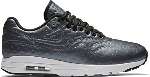 Nike Women's W Air Max 1 Ultra PRM JCRD, Metallic Hematite/Black-Dark Grey, 7.5 US (Nike Air Max 1 Ultra Flyknit Black)