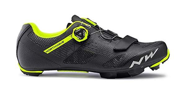 Northwave Zapatilla Ciclista Razer Negro/Amarillo: Amazon.es: Deportes y aire libre