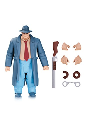 DC Collectibles Batman: The Animated Series: The New Batman Adventures: Harvey Bullock Action Figure