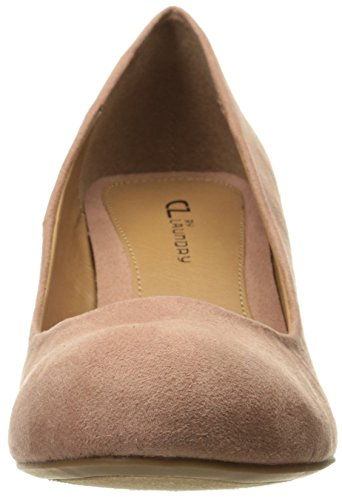 Cl Van Chinese Wasvrouw Nima Wedge Pump Dusty Rose Super Suede