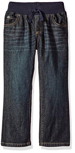 Gymboree Little Boys' Pull-on Jeans, Medium Wash Denim, - Jeans Boys Gymboree