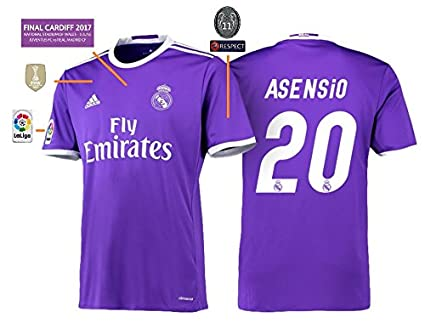 6755ed19c822a Camiseta hombre real madrid Away Champions League final Cardiff 2017 –  Asensio 20