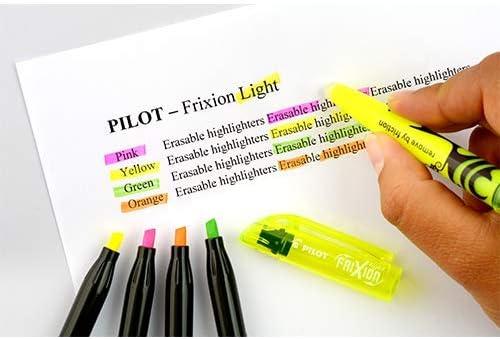 PILOT FriXion radierbarer Textmarker 2x 6er Etui Pastelfarben