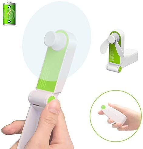 360 ° lame Hand Held Mini Portable Rechargeable USB Cooler Fan