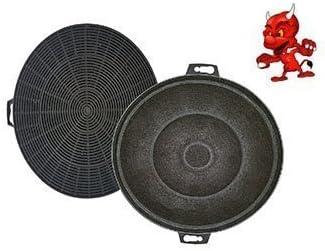 Set 2 Filtros De Carbón Activado Filtro Filtro de carbón para campana Campana Balay 3bd761np02: Amazon.es: Iluminación