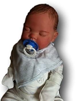 Amazon.es: Los niños de Reborn bebé muñeca, 19 cm de largo, con pelo, recién nacido, Real, Asleep, Heavy, UK VENDEDOR: Juguetes y juegos