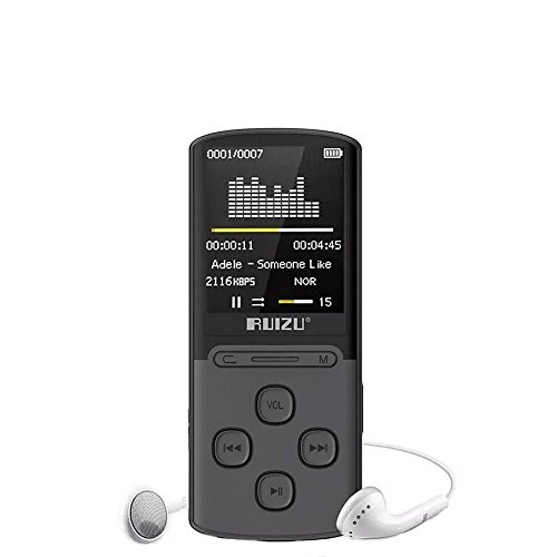 ChenFec 8GB MP3 Player 80 Hours Playback Lossless - Mp3 Player Battery Life