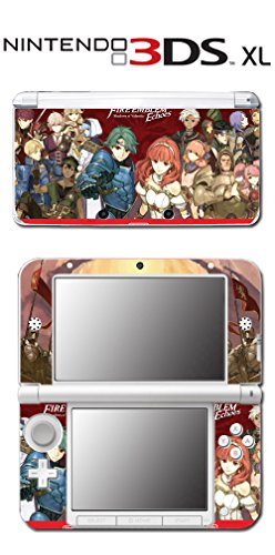 Fire Emblem Echoes: Shadows of Valentia Video Game Vinyl Decal Skin Sticker Cover for the New Nintendo 3DS XL LL 2015 System Console (Fire Emblem Echoes Shadows Of Valentia Nintendo 3ds)
