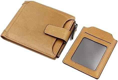 Go Tour Front Pocket Wallet Minimalist Wallet Slim Wallet Genuine Leather