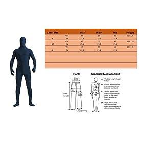 - 41b6Eo5rrGL - WESTLINK Kid's Zentai Suit Bodysuit Costume 2nd Skin Lycra Spandex Full Body with Head Mask