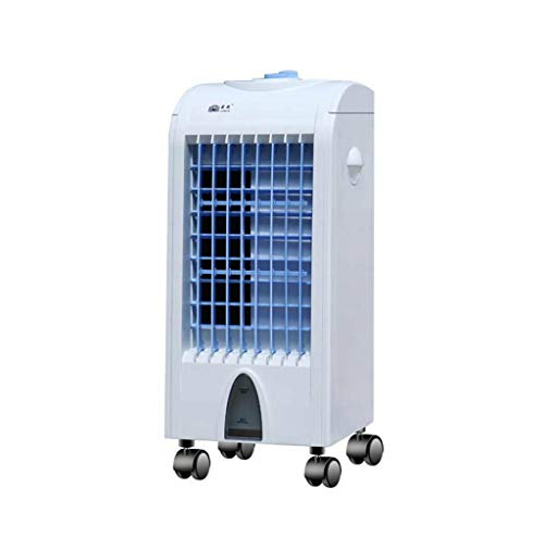 MCGMXG Air-Conditioning Fan, Household Air Cooler Small Refrigeration Small air Conditioner Mute Mechanical Remote Control Mini Fan (Color : #1) ()