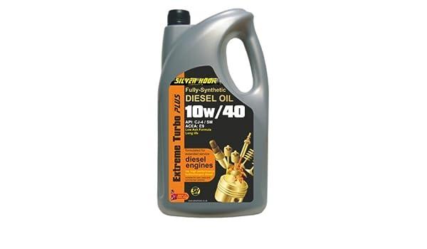 Silverhook EXTREME TURBO PLUS - Aceite sintético para motor diésel 10 W/40 (4,54 litros): Amazon.es: Coche y moto