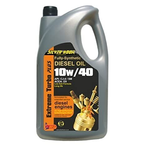 Silverhook EXTREME TURBO PLUS - Aceite sintético para motor diésel 10 W/40 (