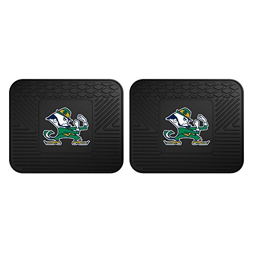 Fighting Irish Basketball Rug (FANMATS 12265 Notre Dame Utility Mat - 2 Piece)
