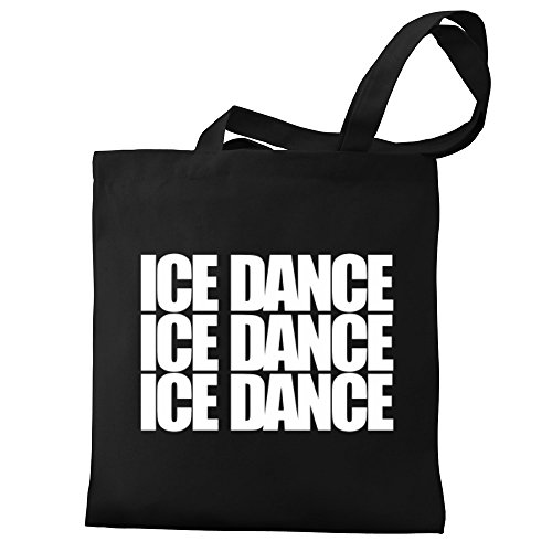 Eddany three Eddany Bag Canvas Ice Dance words Ice Tote gqxxB5wT7H