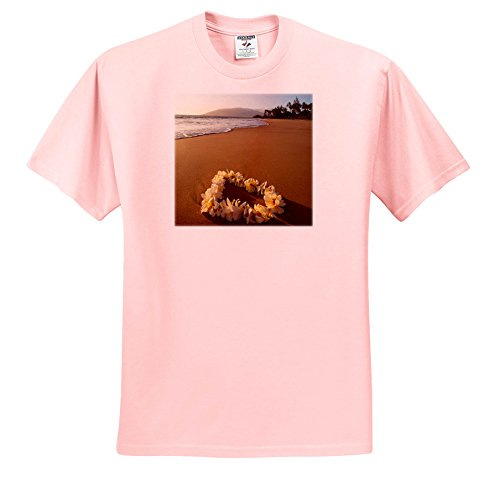 Danita Delimont - Beaches - USA, Hawaii, Maui, Lie On Kihei Beach With Reflections In Sand - T-Shirts - Light Pink Infant Lap-Shoulder Tee (24M) (TS_259255_73) (Reflections Sand)