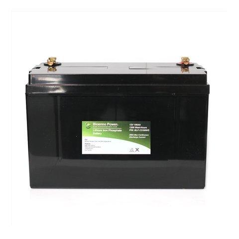 Bioenno Power 12V, 100Ah LFP Battery (ABS, BLF-12100WS)